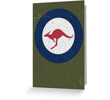 Vintage Look Royal Australian Air Force Roundel  Greeting Card