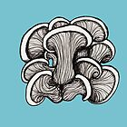 Mushrooms by Freja Friborg