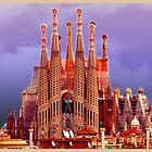 Sagrada Familia  by amira