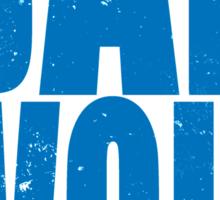 BAD WOLF (BLUE) Sticker