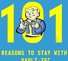 Vault Boy's 101 Reasons For Vault-Tec by cynicalbeliever
