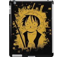luffy grunge sign iPad Case/Skin