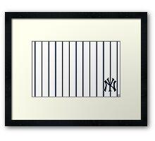 ny-new york yankees Framed Print