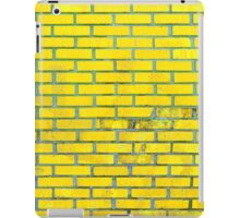 Yellow bricks iPad Case/Skin
