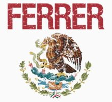 Ferrer Surname Mexican Kids Clothes