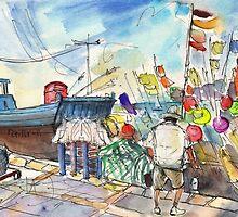 Peniscola Harbour 02 by Goodaboom