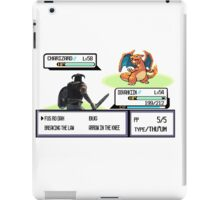 Dovahkiin vs Charizard iPad Case/Skin