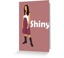 River Tam - Shiny (light) Greeting Card