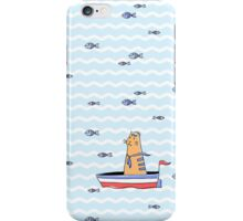 Salty sailor cat. iPhone Case/Skin