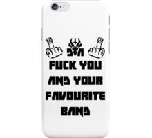 Die Antwoord Unofficial Merch iPhone Case/Skin