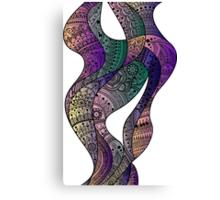paisley waves Canvas Print