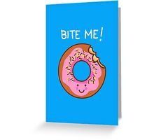 Tasty comeback! Greeting Card