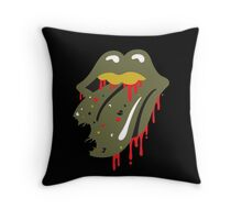 The Rolling Dead Throw Pillow
