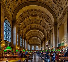 Boston Public Library by LudaNayvelt