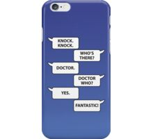 Who's There iPhone Case/Skin