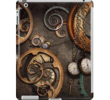 Steampunk - Abstract - Time is complicated iPad Case/Skin