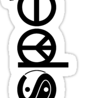 Coexist With Respect Sticker Sticker