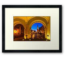 GDANSK 01 Framed Print