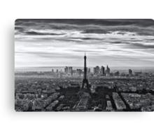 PARIS 10 Canvas Print