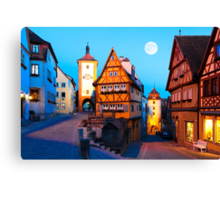 ROTHENBURG OB DER TAUBER 01 Canvas Print