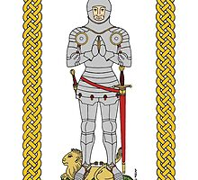 English Knight Circa 1430 by Richard Fay