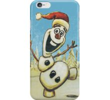 Christmas Olaf from Disney Frozen iPhone Case/Skin