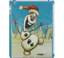 Christmas Olaf from Disney Frozen iPad Case/Skin