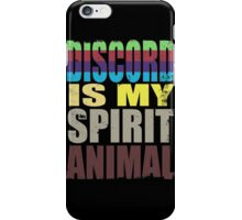 Discord is my Spirit Animal iPhone Case/Skin