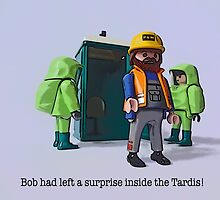 Bob had left a surprise in the Tardis! by Tim Constable