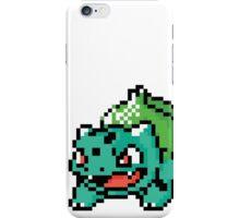 Pocket Monster Green Pixel Art Stickers iPhone Case/Skin
