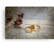 Romeo and Juliet - #3 Canvas Print