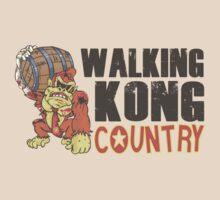 Donkey Kong Country - Walking dead by yebouk