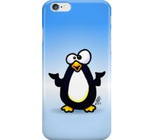Pondering Penguin iPhone Case/Skin