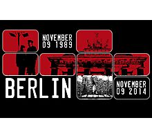 BERLIN WALL 25th Anniversary Photographic Print