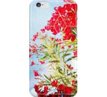 Nature and Geometry - Flowers iPhone Case/Skin