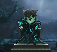 League Of Legends - Thresh by mariafumada
