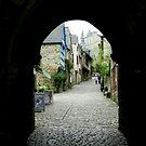 Rue De Jerzual, Dinan by hans p olsen