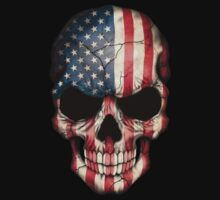 American Flag Skull Kids Clothes
