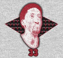 Scottie Pippen #33 by PresentDank