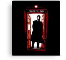 William the Bloody Doctor Canvas Print