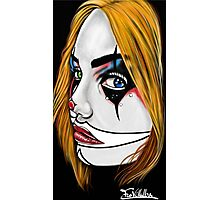 Clown-Girl Photographic Print