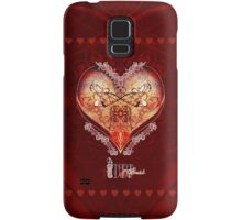 LOVE HEART - Red Samsung Galaxy Case/Skin