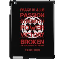 The Sith Creed iPad Case/Skin