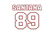 NFL Player Santana Moss eightynine 89 Photographic Print