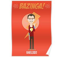 Sheldon - Big Bang Theory Poster