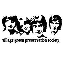 British Invasion - Village Green Preservation Society Photographic Print