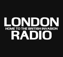 British Invasion - London Radio (White) by kassette