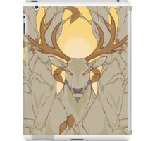 stag in nature iPad Case/Skin