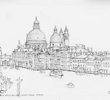 Santa Maria della Salute, Grand Canal, Venezia by Dai Wynn