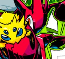 Joltic Scizor Pokemon Sticker